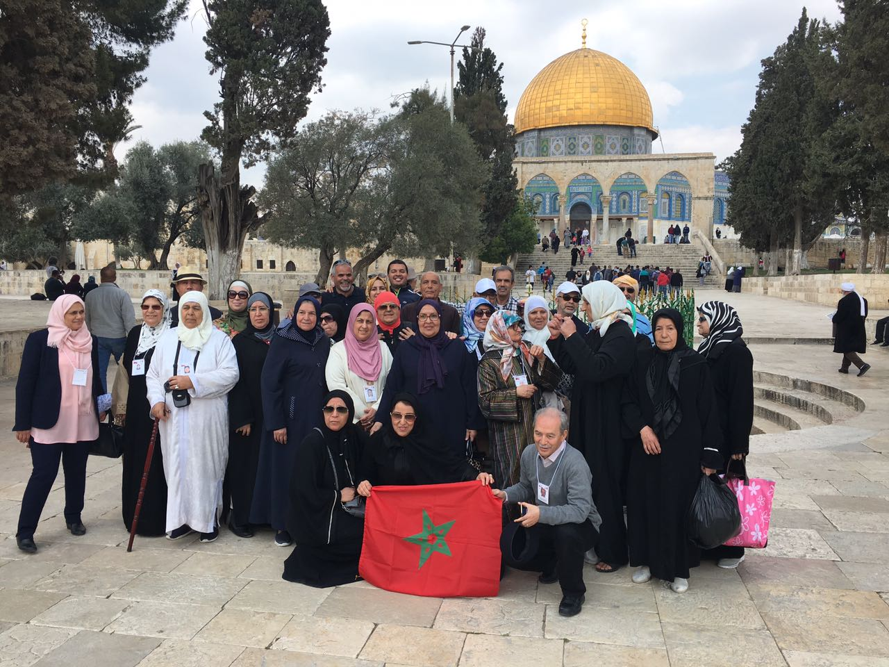 Omra via Palestine